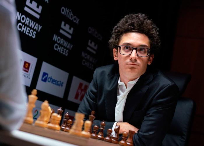 Фабиано Каруана. Шахматный турнир Ставангер 2020