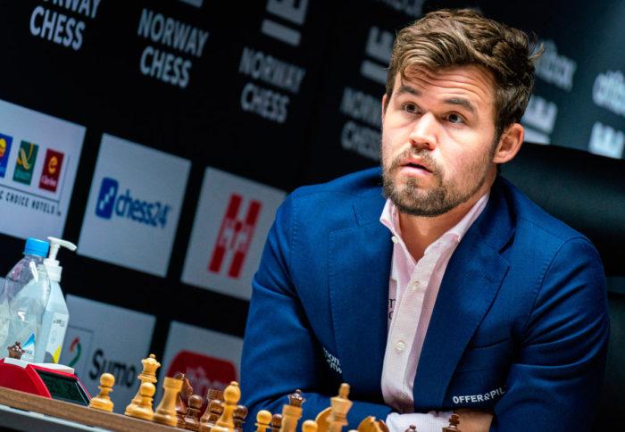 Шахматы Ставангер 2020 Магнус Карлсен