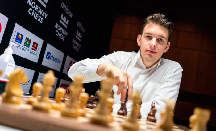 Польский шахматист Ян-Кшиштов Дуда