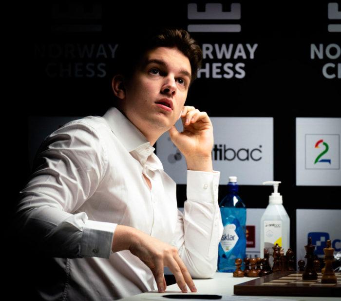 Ян-Кшиштов Дуда (Ставангер 2020, шахматы)