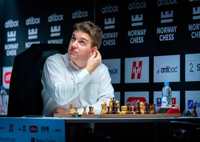 Ян-Кшиштов Дуда выиграл у чемпиона мира Магнуса Карлсена