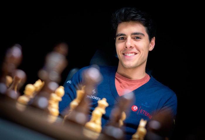 Шахматист Арьян Тари (Норвегия, Ставангер 2020)