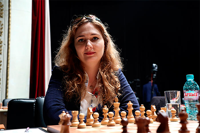 Шахматистка Елена Томилова