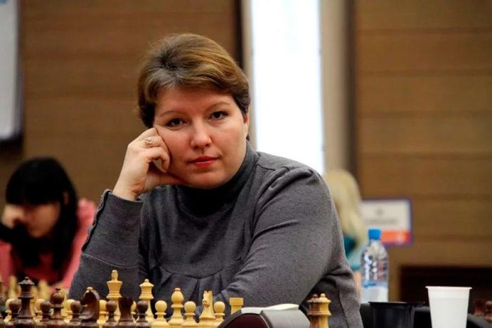 Первая жена Василия Иванчука шахматистка Алиса Галямова