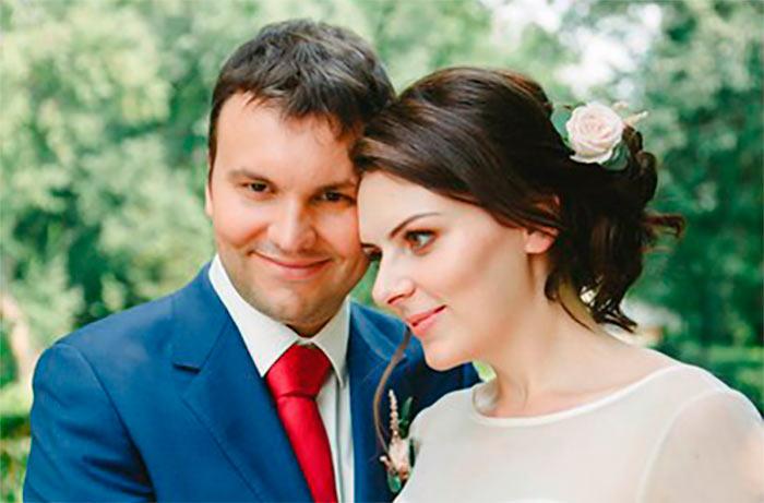 Шахматист Игорь Лысый с женой Людмилой Фигурой