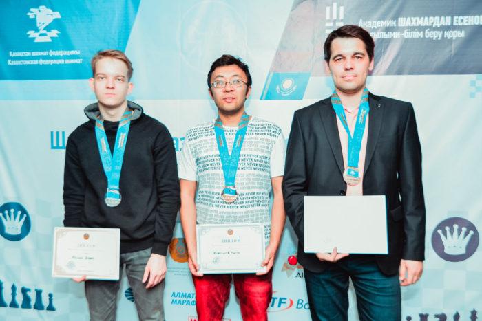Муртас Кажгалеев - чемпион Казахстана по шахматам 2018