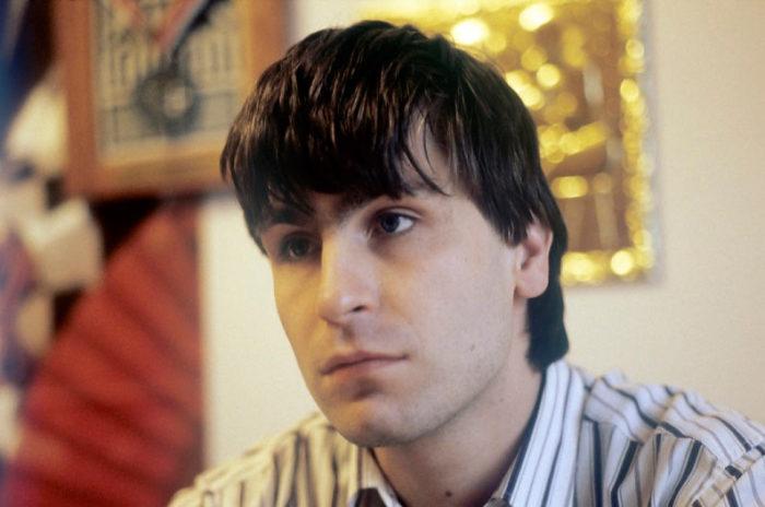 Шахматист Василий Иванчук в молодости (1991)