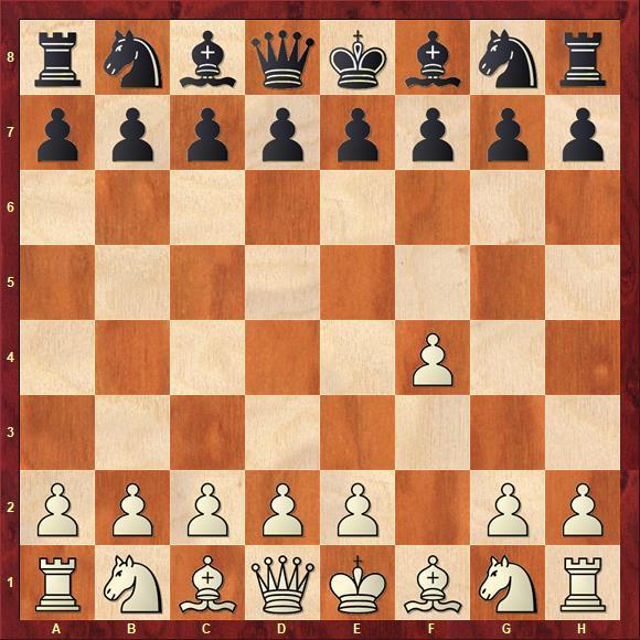 Дебют Берда (анг. Bird's Opening) - начинается ходом 1. f4