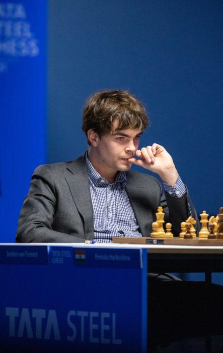 Йорден ван Форест. Шахматный турнир в Вейк-ан-Зее 2021, тур 11