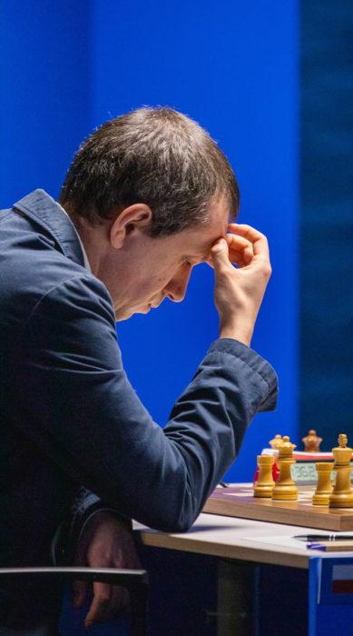 Польский шахматист Радослав Войташек. Вейк-ан-Зее 2021, тур 11