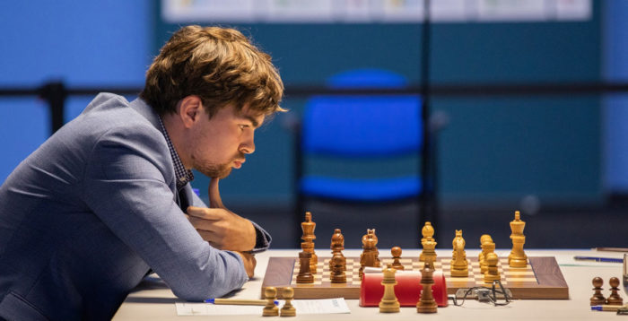 Нидерландский шахматист Йорден ван Форест (рейтинг 2671). Tata Steel Chess 2021, Вейк-ан-Зее, тур 3