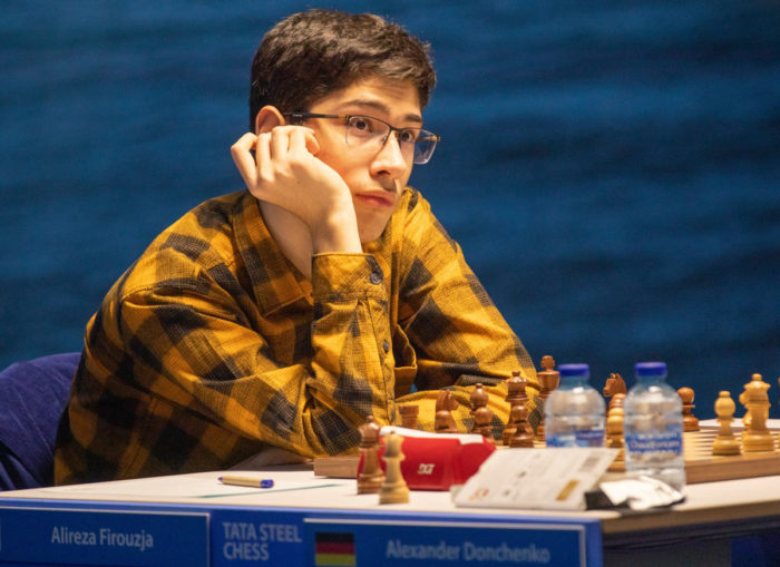 Самый молодой участник турнира в Вейк-ан-Зее 2021 Алиреза Фируджа (17 лет)
