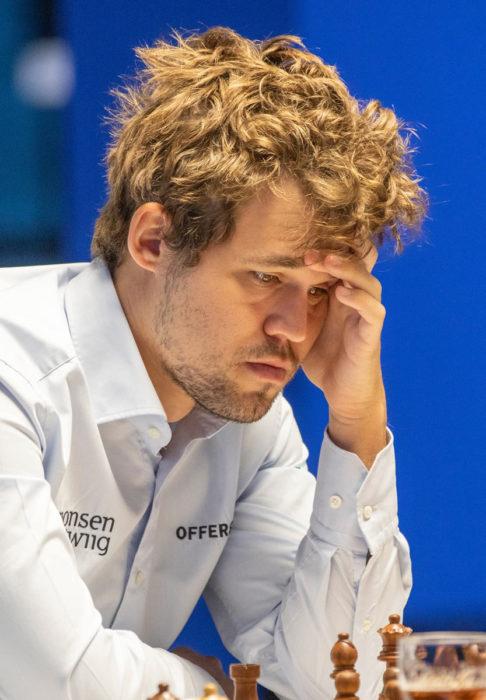 16 чемпион мира по шахматам Магнус Карлсен. Вейк-ан-Зее 2021, турнир Tata Steel Masters