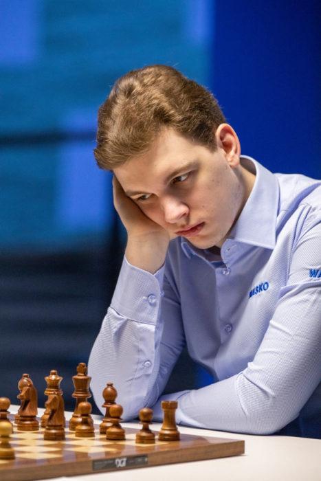 Шахматист Ян-Кшиштов Дуда (страна - Польша, возраст - 22 года, рейтинг - 2743)