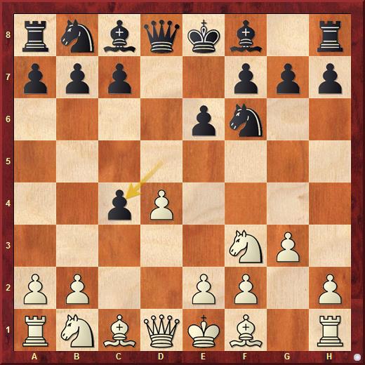 Каталонское начало. Открытая система с ходом 4...dxc4
