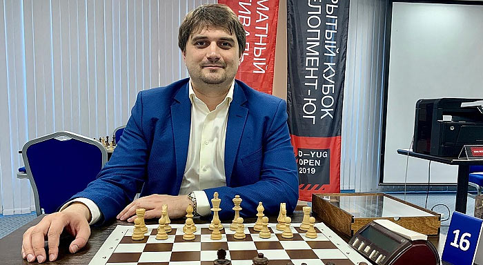 Шахматист Павел Панкратов