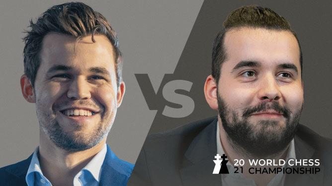 Матч Карлсен - Непомнящий 2021 за звание чемпиона мира по шахматам
