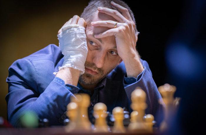 Александр Грищук пока не одержал ни одной победы на турнире претендентов 2020-2021