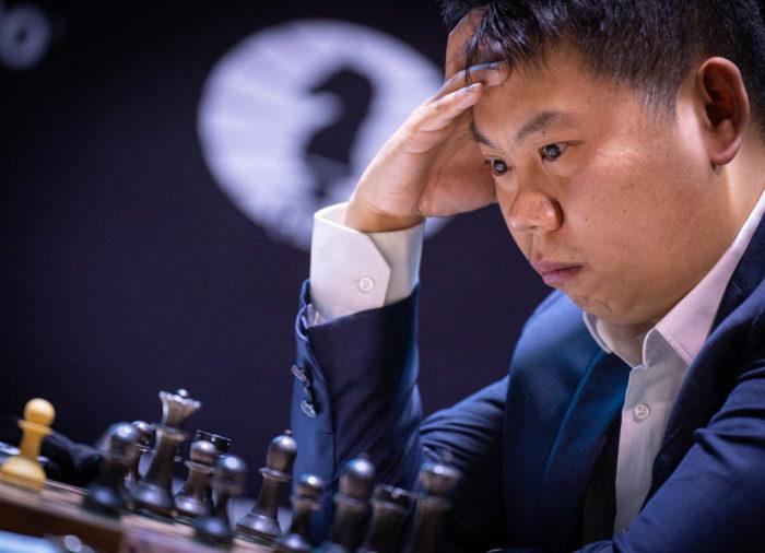 Китайский шахматист Ван Хао - турнир претендентов по шахматам 2020-2021 в Екатеринбурге (тур 11)