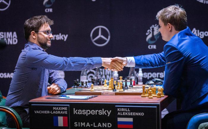 Максим Вашье-Лаграв и Кирилл Алексеенко