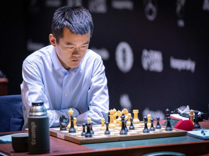 Дин Лижэнь разыгрался, но в это время закончился турнир претендентов...