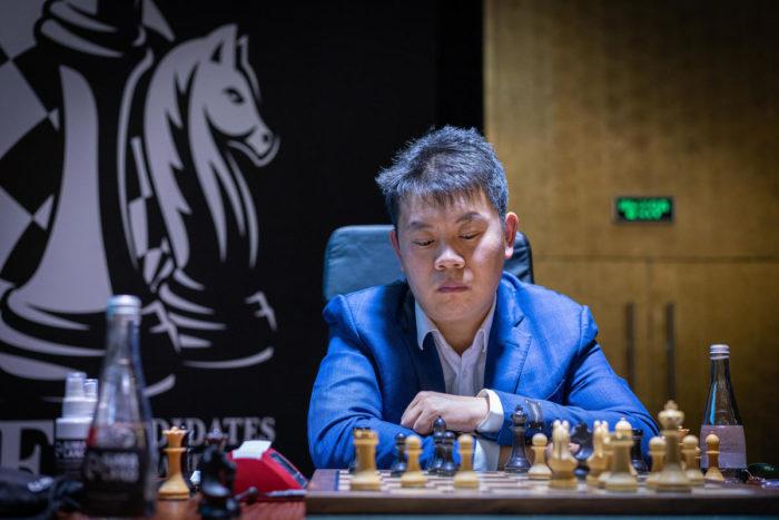 Ван Хао. Турнир претендентов по шахматам 2020-2021 (тур 14)
