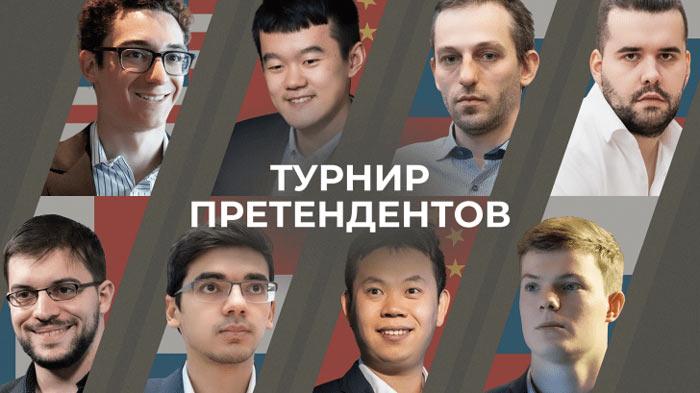 Участники турнира претендентов по шахматам 2020-2021