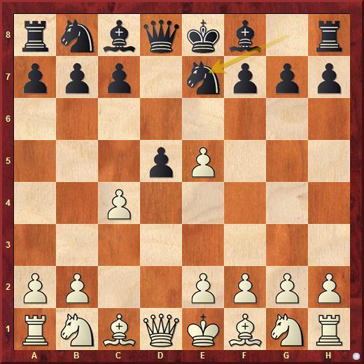 В контргамбите Альбина основное продолжение за черных 3...d4, в гамбите Шиманова черные играют 3...Ne7