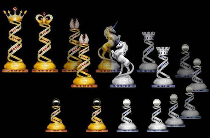 Самые дорогие шахматы в мире - Jewel Royale Chess Set - €1,2 Million