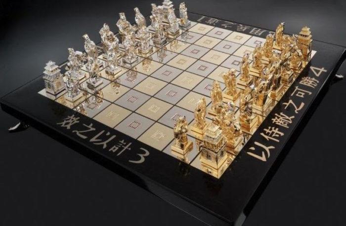 Дорогие шахматы Art of War Chess Set - €705,782
