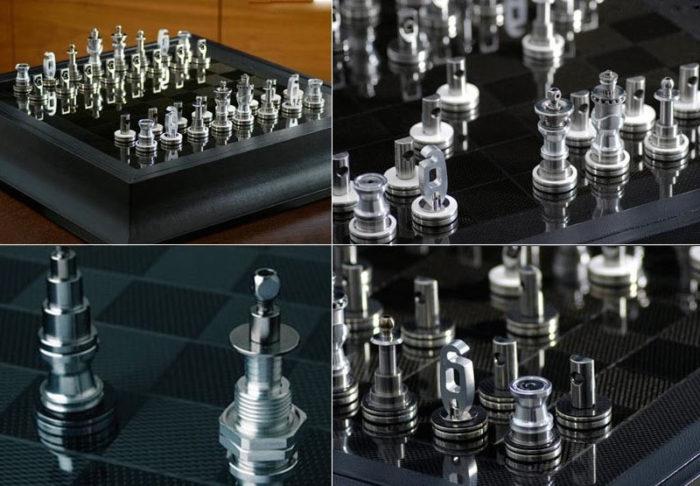 Дорогие шахматы Renault F1 Team Collection Chess Set - €39,523. Мечта автолюбителя!
