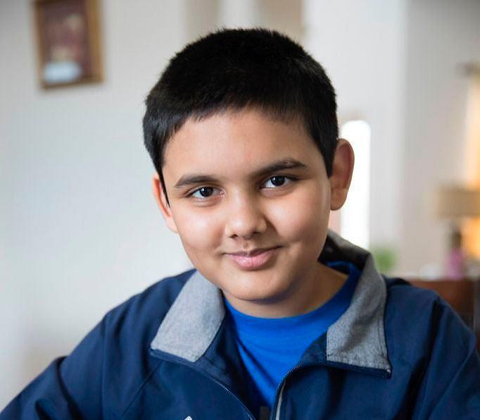 Шахматист Абхиманью Мишра (Abhimanyu Mishra)