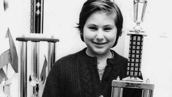 Шахматистка Юдит Полгар в детстве