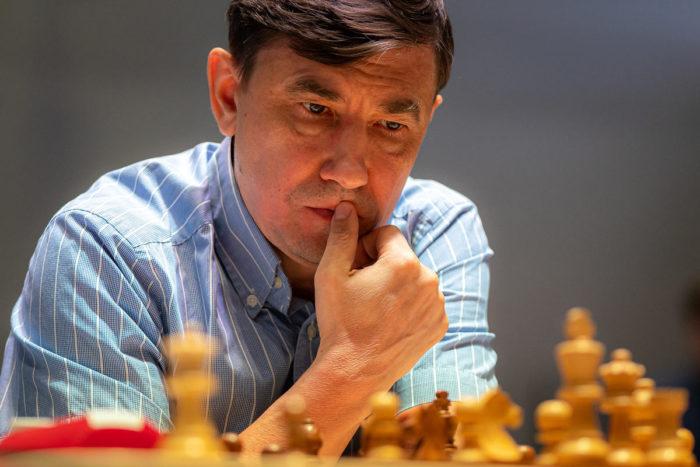 Шахматист Евгений Бареев