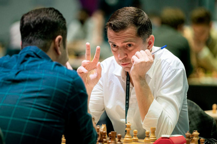 Американский шахматист Александр Онищук