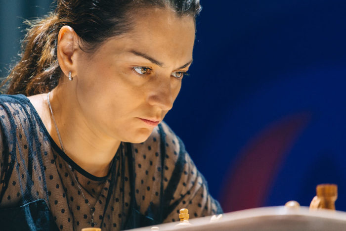 Шахматистка Александра Костенюк, Сочи 2021