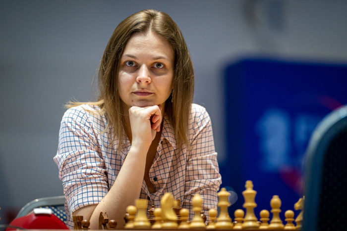 Шахматистка Анна Музычук