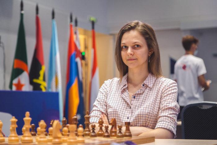 Украинская шахматистка Анна Музычук