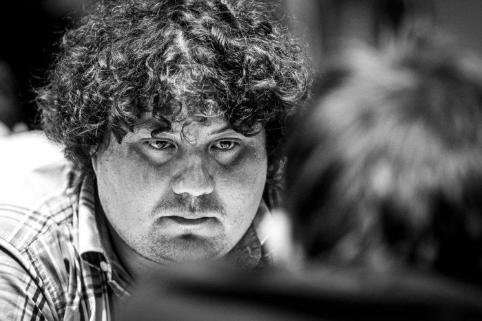 Шахматист Антон Коробов (Украина)