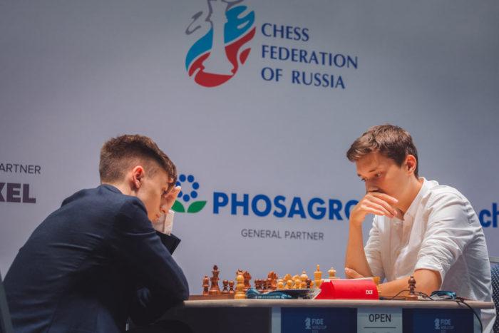 Даниил Дубов и Андрей Есипенко. Кубок мира 2021 по шахматам Сочи