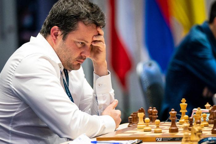 Французский шахматист Этьен Бакро (Etienne Bacrot)