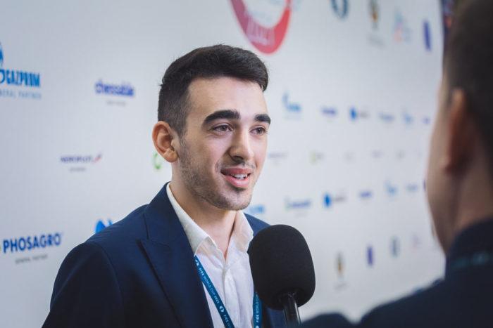 Шахматист Айк Мартиросян (Кубок мира 2021 по шахматам, Сочи)
