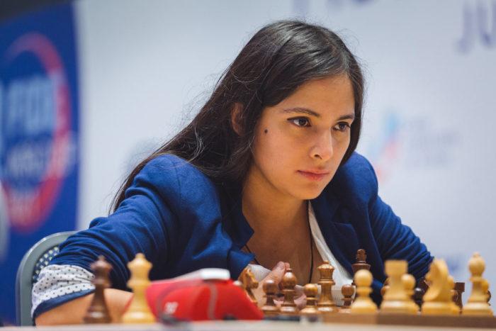 Шахматистка Ингрид Ядира Альяга Фернандес