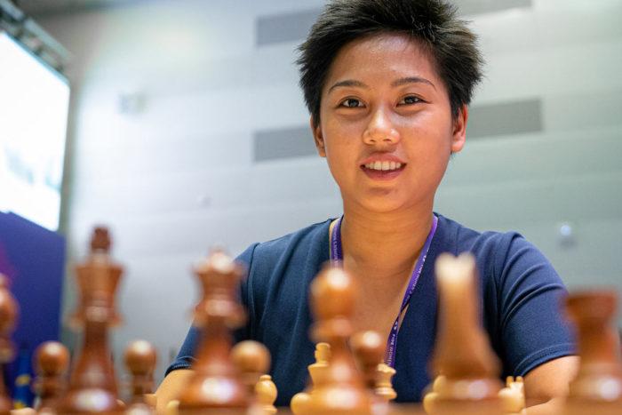 Шахматистка из Филиппин Жанель Мэй Фрайна (Janelle Mae Frayna)