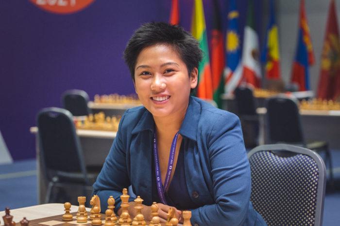 Шахматистка Жанель Мэй Фрайна (Janelle Mae Frayna)