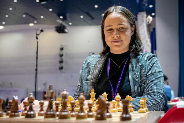 Шахматистка Джесс Никки Фебруари
