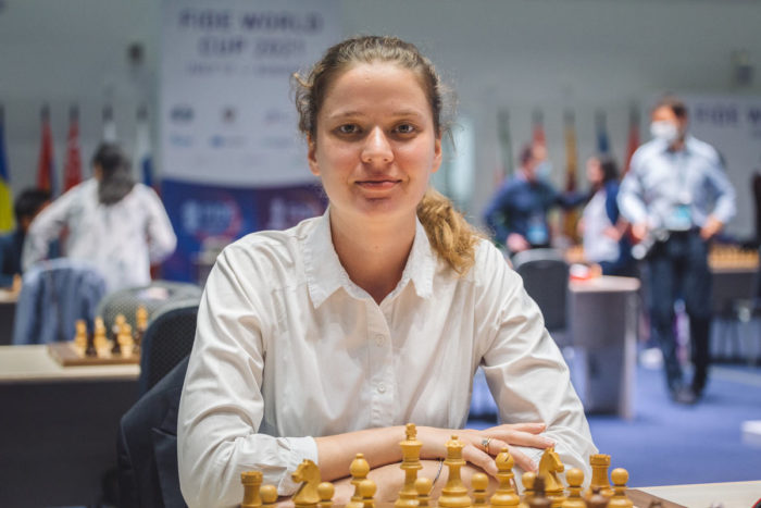 Украинская шахматистка Наталия Букса