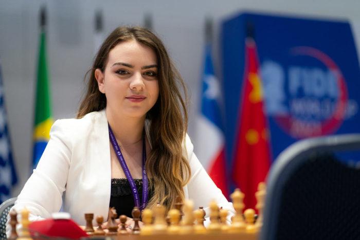 Болгарская шахматистка Нургюл Салимова