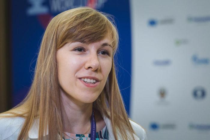 Шахматистка Ольга Гиря из России