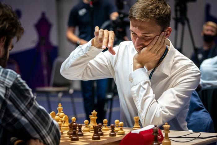 Сергей Карякин на Кубке мира 2021, Сочи
